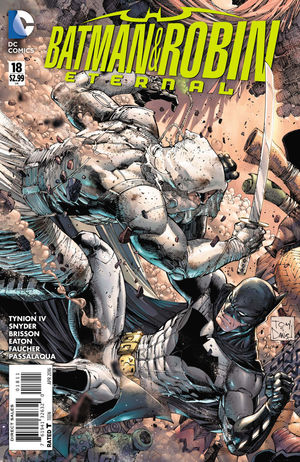 BATMAN AND ROBIN ETERNAL (2015) #18