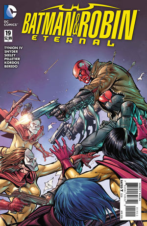 BATMAN AND ROBIN ETERNAL (2015) #19