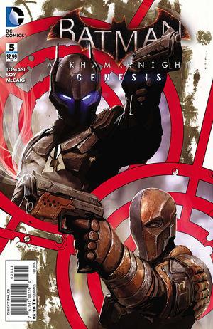 BATMAN ARKHAM KNIGHT GENESIS (2015) #5