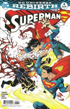 SUPERMAN (2016 4TH SERIES) #4A