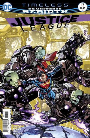 JUSTICE LEAGUE (2016) #17A