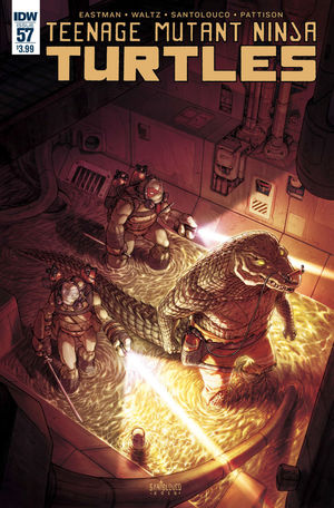 TEENAGE MUTANT NINJA TURTLES (2011 IDW) #57