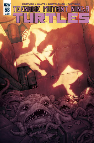 TEENAGE MUTANT NINJA TURTLES (2011 IDW) #58