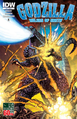 GODZILLA RULERS OF EARTH (2013 IDW)