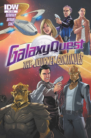 GALAXY QUEST THE JOURNEY CONTINUES (2015 IDW)