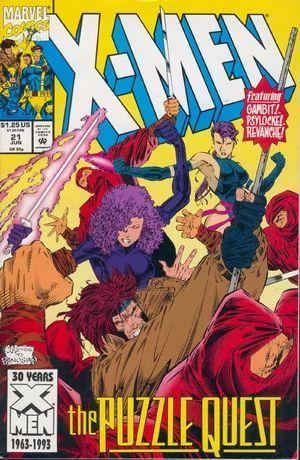X-MEN (1991 1ST SERIES) #21