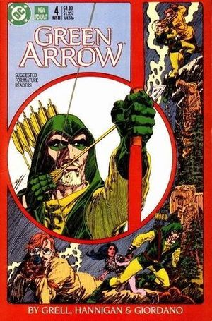 GREEN ARROW (1987 1ST SERIES) #4