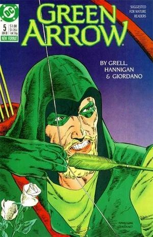GREEN ARROW (1987 1ST SERIES) #5