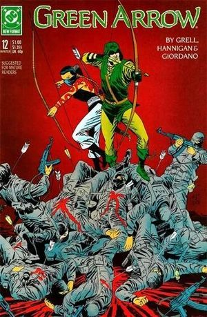 GREEN ARROW (1987 1ST SERIES) #12