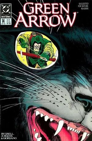 GREEN ARROW (1987 1ST SERIES) #14