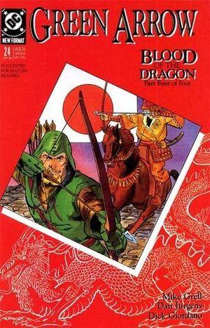GREEN ARROW (1987 1ST SERIES) #24