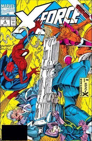 X-FORCE (1991 1ST SERIES) #4
