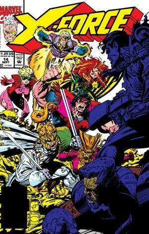 X-FORCE (1991 1ST SERIES) #14