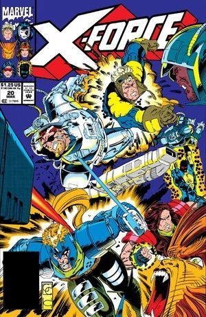 X-FORCE (1991 1ST SERIES) #20