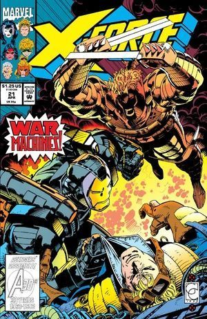 X-FORCE (1991 1ST SERIES) #21