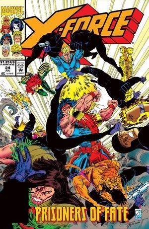 X-FORCE (1991 1ST SERIES) #24