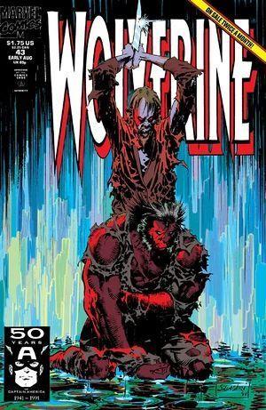 WOLVERINE (1988 1ST SERIES) #43