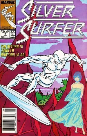 SILVER SURFER (1987 2ND SERIES) #2