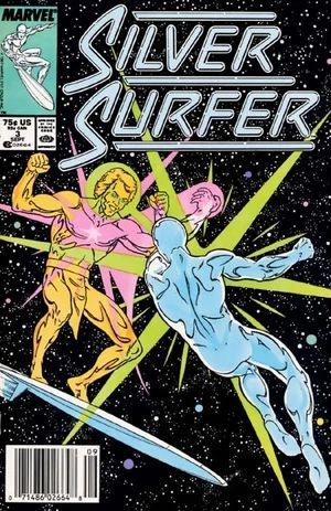 SILVER SURFER (1987 2ND SERIES) #3