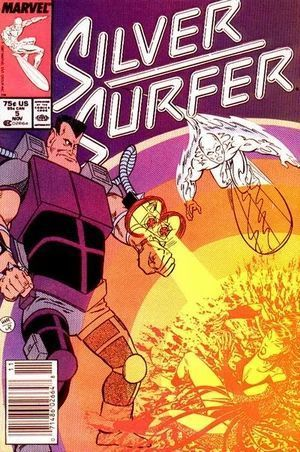 SILVER SURFER (1987 2ND SERIES) #5
