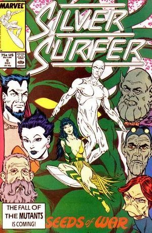 SILVER SURFER (1987 2ND SERIES) #6