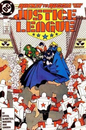 JUSTICE LEAGUE AMERICA (1987) #3