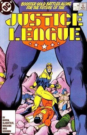 JUSTICE LEAGUE AMERICA (1987) #4