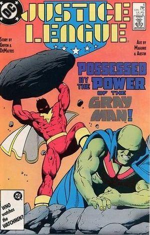 JUSTICE LEAGUE AMERICA (1987) #6