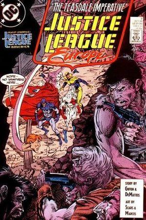 JUSTICE LEAGUE EUROPE (1989) #7