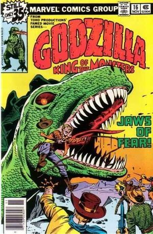 GODZILLA (1977 MARVEL) #16
