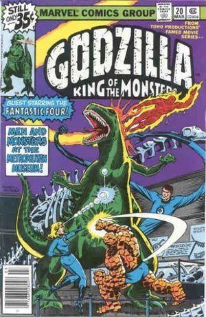 GODZILLA (1977 MARVEL) #20