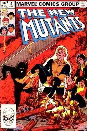 NEW MUTANTS (1983 1ST SERIES) #4