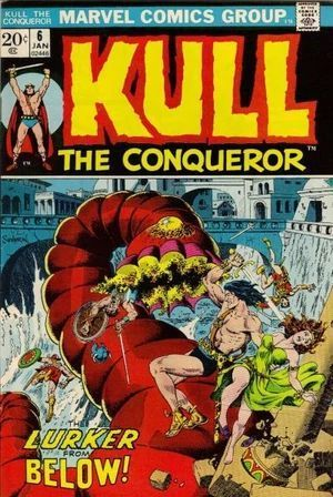 KULL THE CONQUEROR (1971 1ST SERIES) #6