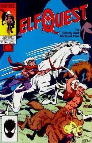 ELFQUEST (1985 MARVEL) #7