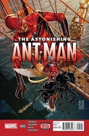 ASTONISHING ANT-MAN (2015) #5