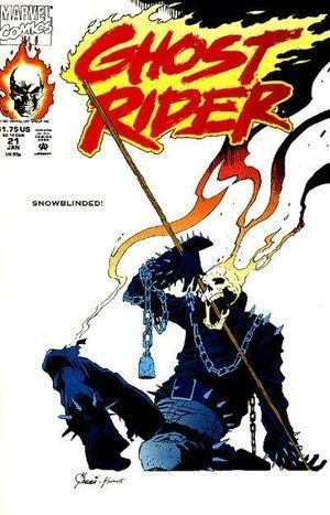 GHOST RIDER (1990 2ND SERIES) #21