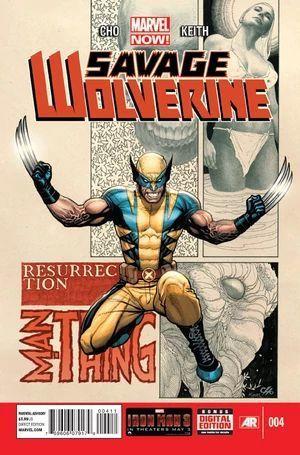 SAVAGE WOLVERINE (2013) #4