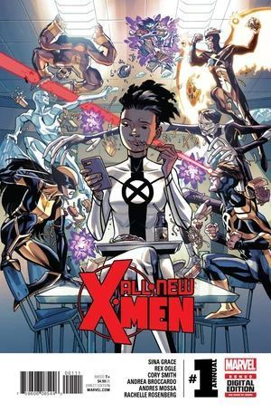 ALL NEW X-MEN (2015 2ND SERIES) ANNUAL  #1