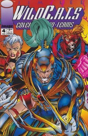 WILDCATS COVERT ACTION TEAMS (1992) #4