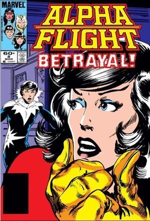 ALPHA FLIGHT (1983 1ST SERIES) #8