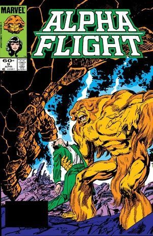 ALPHA FLIGHT (1983 1ST SERIES) #9