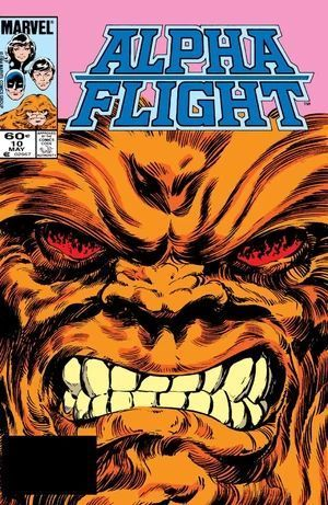 ALPHA FLIGHT (1983 1ST SERIES) #10