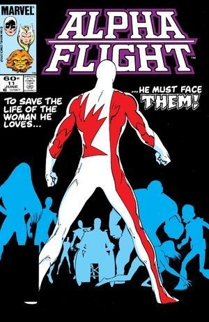 ALPHA FLIGHT (1983 1ST SERIES) #11