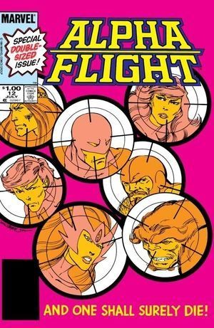 ALPHA FLIGHT (1983 1ST SERIES) #12