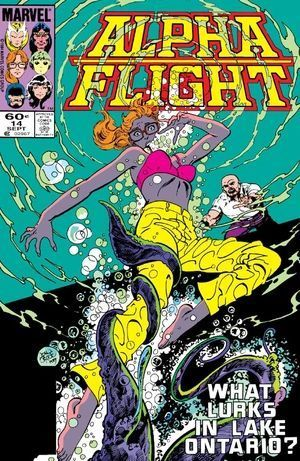 ALPHA FLIGHT (1983 1ST SERIES) #14