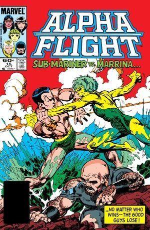 ALPHA FLIGHT (1983 1ST SERIES) #15