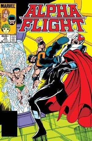 ALPHA FLIGHT (1983 1ST SERIES) #16