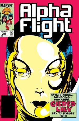 ALPHA FLIGHT (1983 1ST SERIES) #20