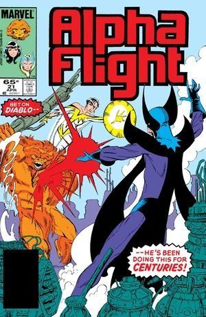 ALPHA FLIGHT (1983 1ST SERIES) #21