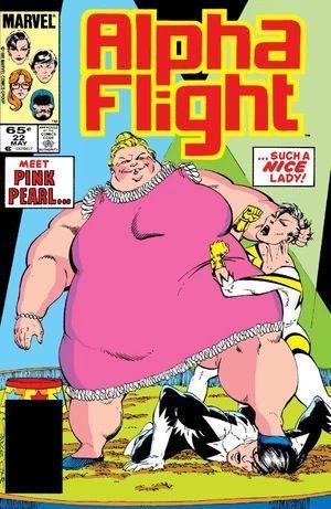 ALPHA FLIGHT (1983 1ST SERIES) #22